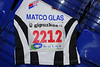 Nummer voor het seizoen 2011 - 2012 in Guipúzcoa (Baskenland - Spanje)<br /> <br /> Dorsal para la temporada 2011 - 2012 en Guipúzcoa (País Vasco - España)<br /> <br /> 2011 - 2012 # in Guipúzcoa (Basque Country - Spain)<br /> <br /> Dossard pour la saison 2011 - 2012 en province de Guipúzcoa (Pays Basque - Espagne)