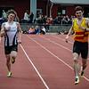Aankomst/llegando a meta: Yngwie Vanhoucke & Lars Herreman
