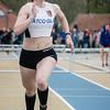 Provinciale titel voor Céline Delheye van FLAC Izegem op de 400 M Horden voor meisjes scholieren - Provinciaal Kampioenschap - Sportpark De Lenspolder - Nieuwpoort