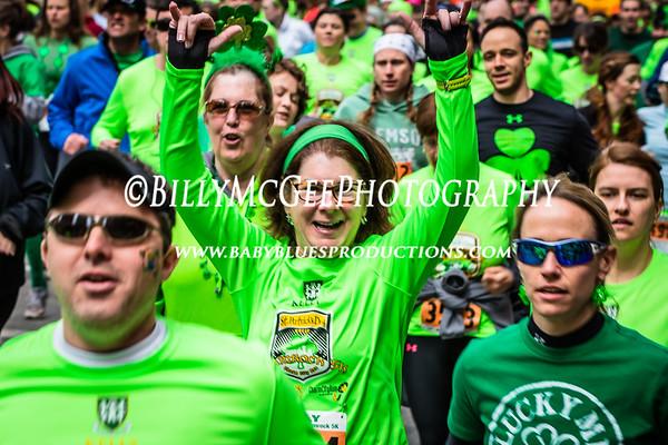 Kelly St. Patrick Day Shamrock 5k Run - 16 Mar 2014
