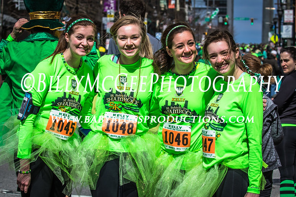 Shamrock 5k Run - 15 March 2015