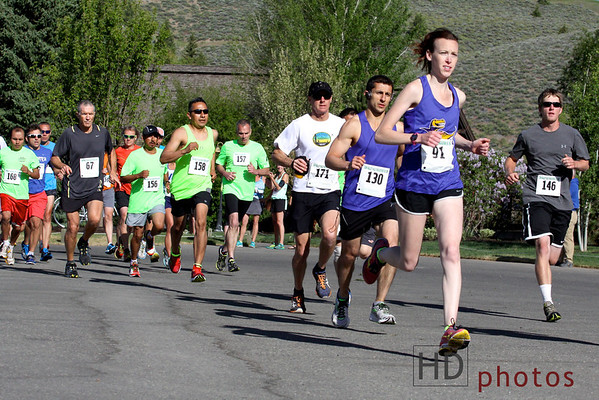 Sun Valley Half Marathon Races (June 7, 2014)