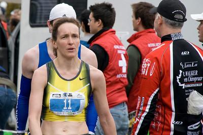 women's winner Lisa Harvey