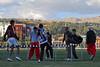 Plaatselijke atleten bij hun opwarming - Parque Zonal - Wanchaq - Cusco - Peru