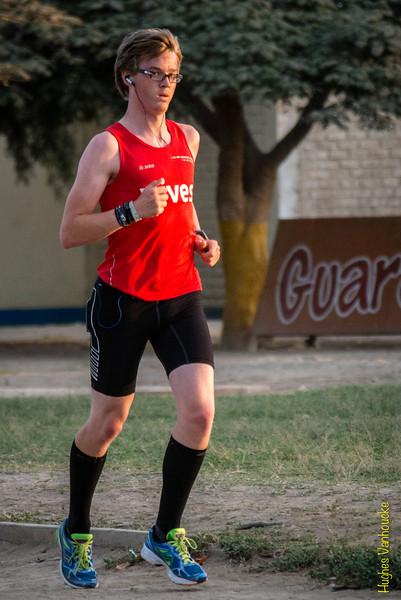 Eerste training in Peru van 2014 - IPD Atletiekpiste - Ica - Peru