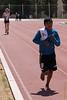 Niño de Chumbivilcas entrenando para el campeonato intercolegios - Parque Zonal - Wanchaq - Cusco - Perú