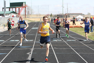 Paxton's Jordan Loeffler in the boys 200 prelims