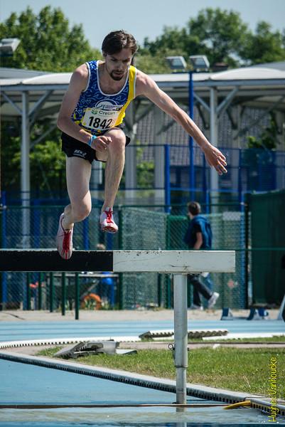 Krijn Van Koolwijk op 3.000 M Steeple