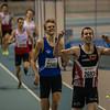 De zoveelste zege voor Hans Omey op de 800 M - Kampioenschap van Vlaanderen - BLOSO Topsporthal - Blaarmeersen - Gent