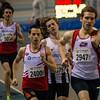 De strijd voor de derde plaats - Kampioenschap van Vlaanderen - BLOSO Topsporthal - Blaarmeersen - Gent