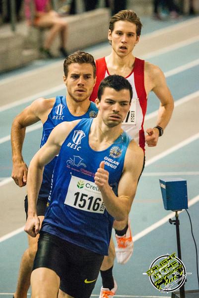 Poging om de limiet te halen voor het EK - Vlierzele Sportief Indoor Meeting - BLOSO Topsporthal - Gent