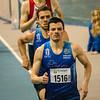 Haaswerk van Arnaud Ghislain voor Pierre-Antoine Balhan - Vlierzele Sportief Indoor Meeting - BLOSO Topsporthal - Gent