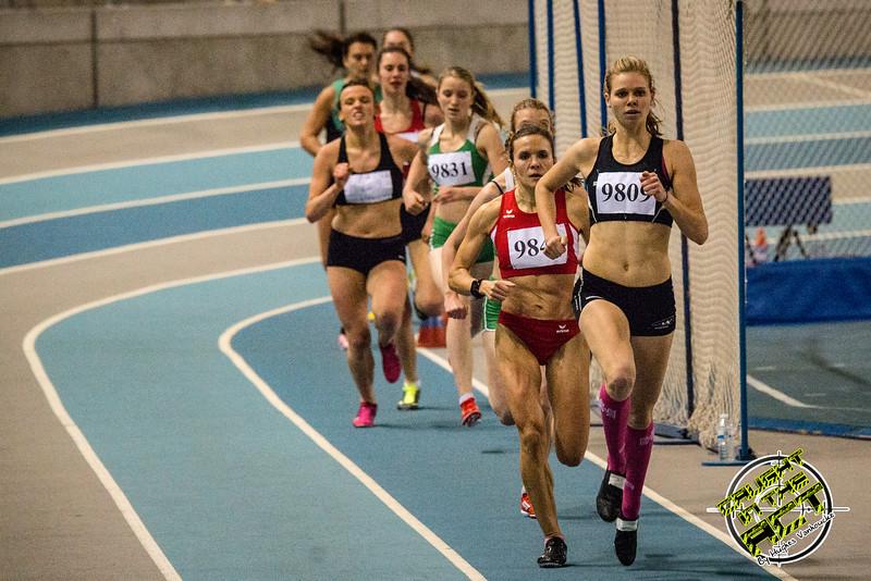 Was dit het Nederlands kampioenschap bij de dames? - Vlierzele Sportief Indoor Meeting - BLOSO Topsporthal - Gent