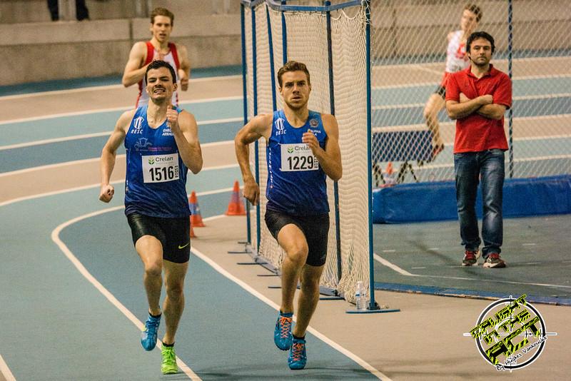 RESC Atleten Arnaud Ghislain & Pierre-Antoine Balhan - Vlierzele Sportief Indoor Meeting - BLOSO Topsporthal - Gent