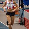 Ellen Beddeleem met winst op de 800 M - Vlierzele Sportief Indoor Meeting - BLOSO Topsporthal - Gent