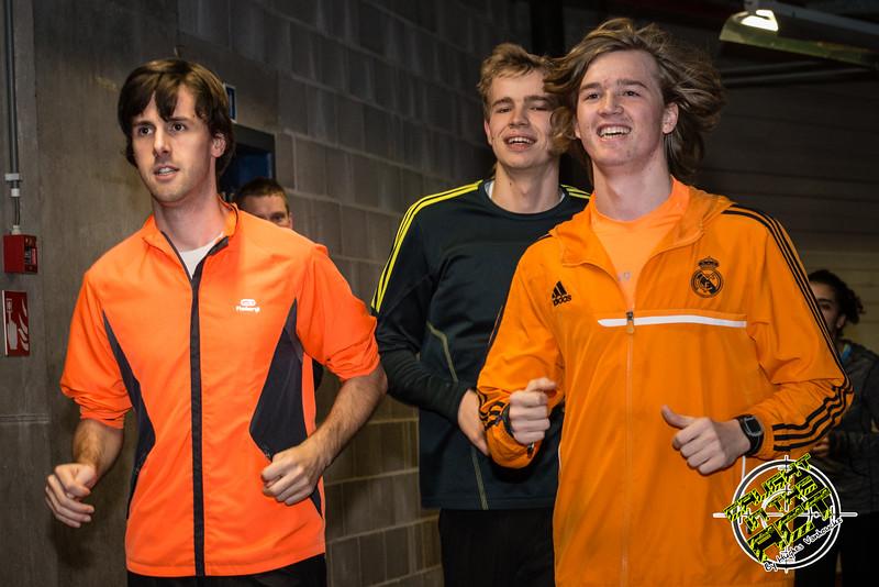 Opwarming FLAC Ieper atleten - Vlierzele Sportief Indoor Meeting - BLOSO Topsporthal - Gent