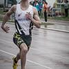 Ken Neyt op de finale 100 M