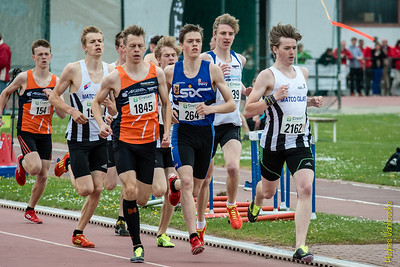 West-Vlaams Kampioenschap Outdoor 2014 - Dag 1
