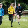 FLAC Ieper atleten Yngwie Vanhoucke, Lars Oosterlinck, Patrick Bossue & Koen De Ridder