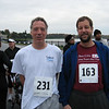 Jim and David before the race