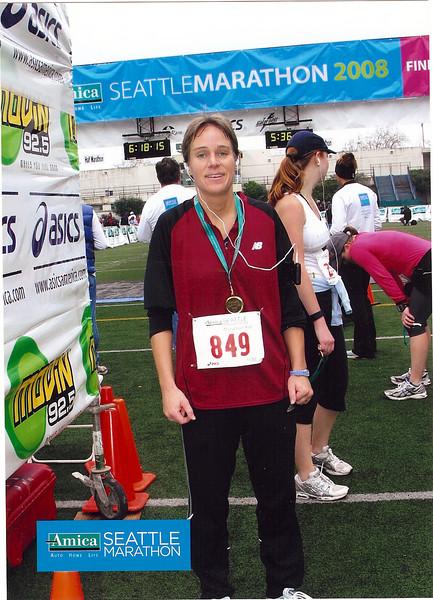 2008 Seattle Marathon