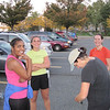 Getting ready for last track workout before Baltimore Half-Marathon 2010