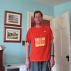 David after the Baltimore 10 Miler 2010--his first middle distance race