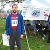 David before his first 5K race