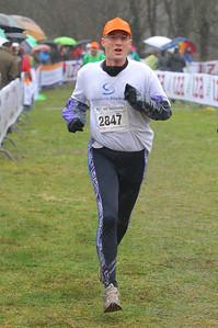 NK Veldloop gemeenten, Heemskerk, 7 maart 2012 (Dutch Championships municipal officials cross country running, Heemskerk, 7 March 2012)
