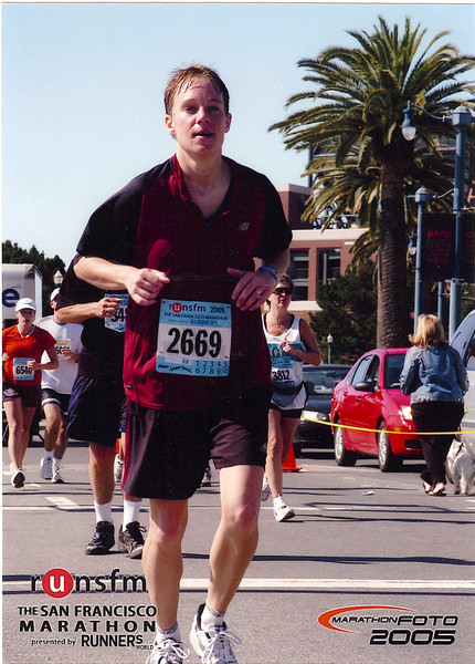 2005 San Francisco Marathon