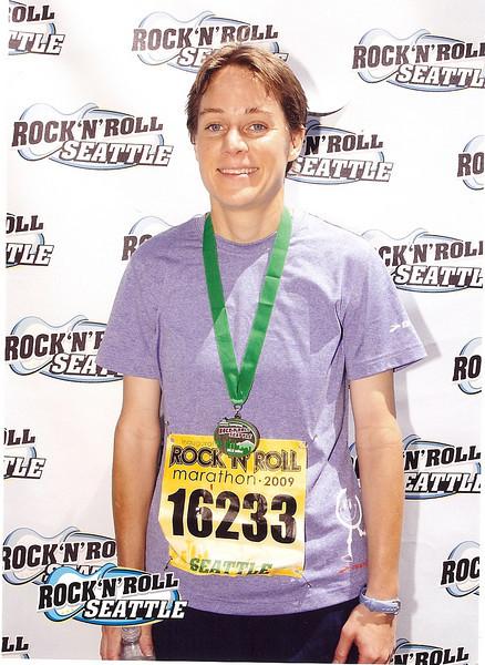 2009 Seattle Rock 'n' Roll Marathon - Inaugural