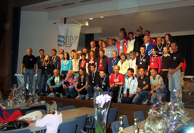 BLV Cup winners 2005, Zeil am Main, Germany, October 2005