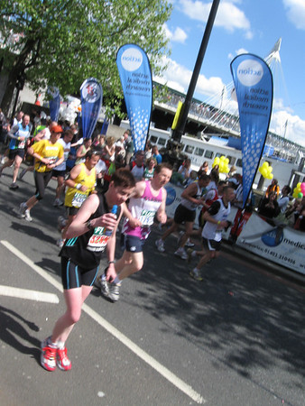 London Marathon 2009: Breakthrough Breast Cancer