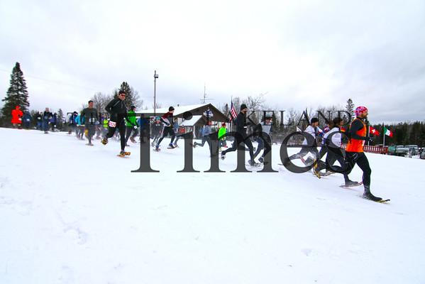 3rd annual Moose Tracks Snowshoe Race
