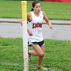 Freshman harrier Kayla Fogg qualified for the semistate with her ninth place finish at the regional.