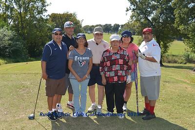 Rusk Athletic Golf Tournament 2015