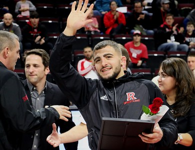 Feb. 9, 2018 SENIOR NIGHT: Knights hosted Minnesota Gofers, at the RAC, 20-12 L