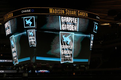 Grapple at the Garden vs George Mason 47-0 win, Nov. 29,. 2015