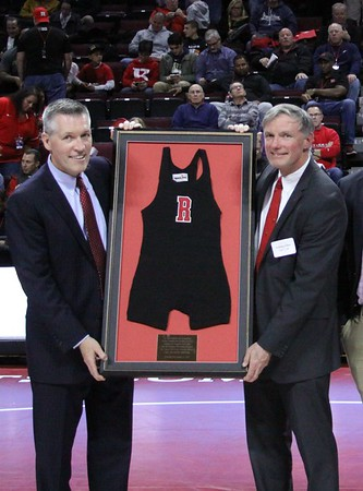 Jan 6, 2017 @ RAC RU defeated Illinois 19-17,   Coach Deane Oliver recognized for Hall of Fame induction...Letter winners honored on Alumni Night,.... the place was rockin!