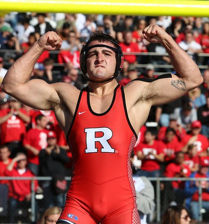 Nov 19, 2016 Battle at the Birthplace, Rutgers vs Princeton in RU Stadium, 16,000+ in attendance, RU  won 19-15
