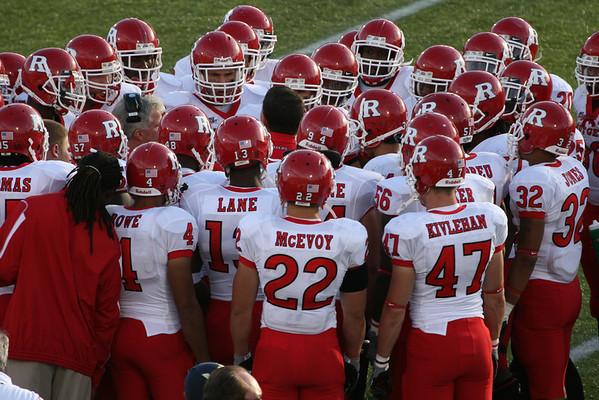 Rutgers vs. Navy 9/20/2008