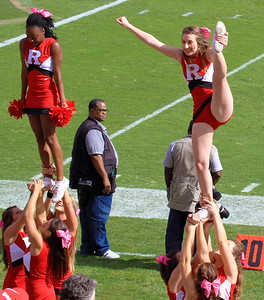 Rutgers cheerleaders