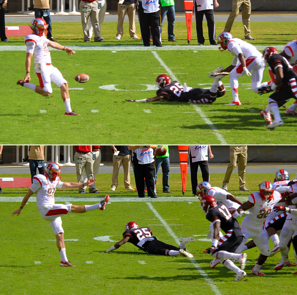 Sequence of a Rutgers punt