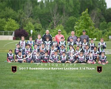 2017 Lacrosse 3-4 Team 8x10