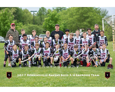 2017 Lacrosse 5-6 Team 8x10 with border