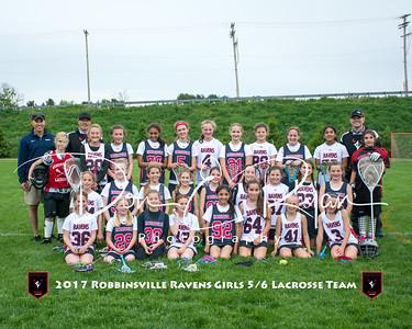 2017 Girls 5-6 Lacrosse Team 8x10