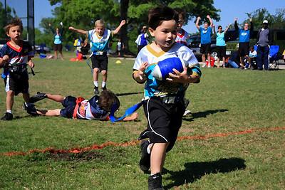 Ryan's First Touchdown