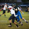 #12 makes a tackle for OLH.