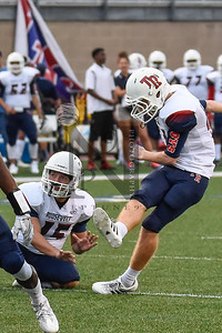 Rough Riders def. Cougars 45-21 at Farris Stadium in San Antonio, Tx on 1 Sep 16. Gallery: http://smu.gs/2ca1xjA (SASports.com/ Andrew Patterson)