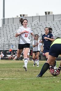 TMI def. Vet Memeorial 2-0 in Girl's Soccer at the SAISD Tournament on 14Jan17. Gallery: http://smu.gs/2iytcyM